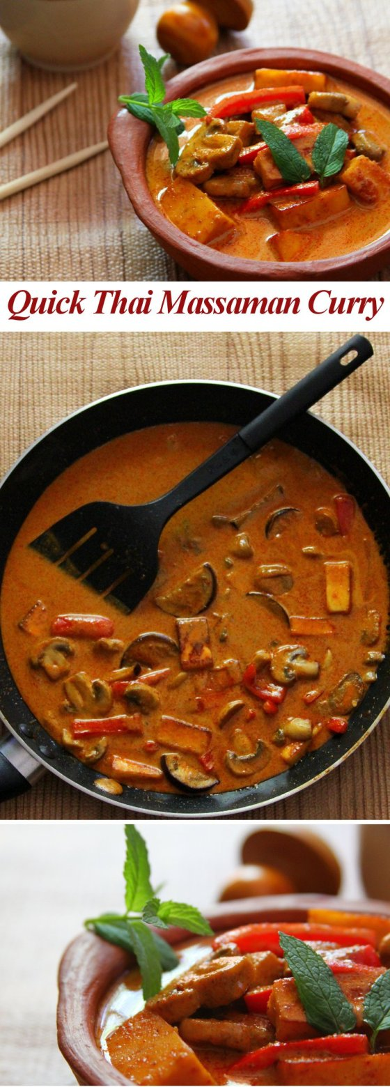 Quick Thai Massaman Curry