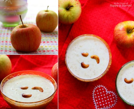 Apple & Paneer Kheer (Indian Milk Pudding)