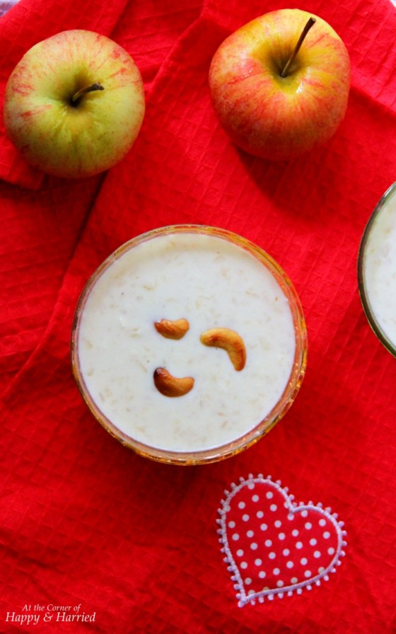 Apple & Paneer Kheer