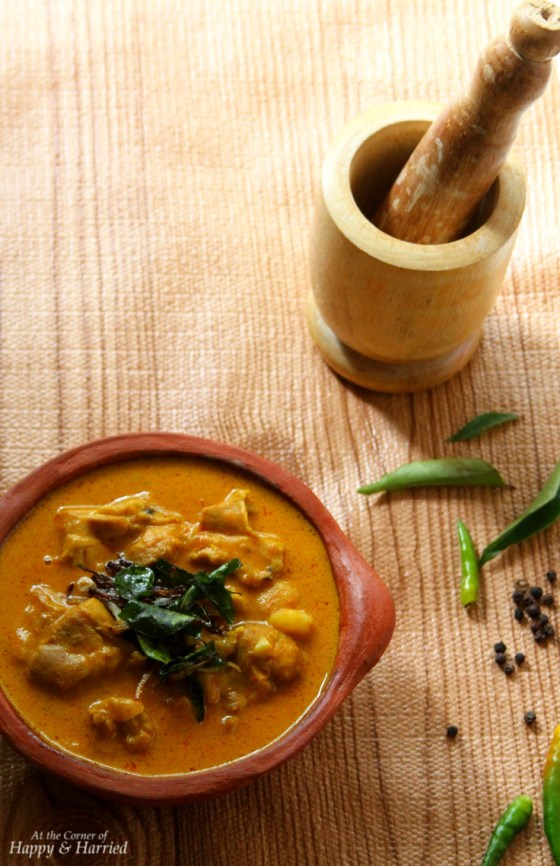 Mild And Fragrant Chicken Curry With Coconut Milk