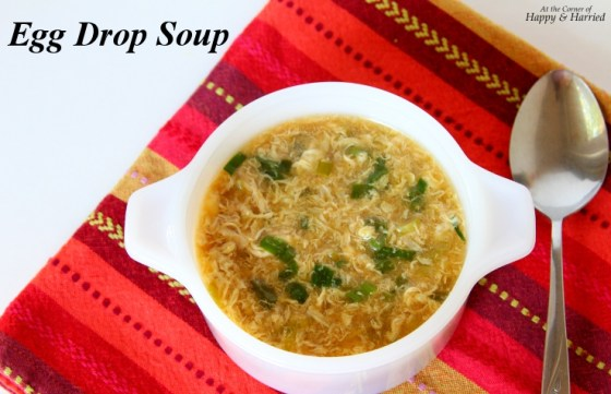 Homemade Egg Drop Soup
