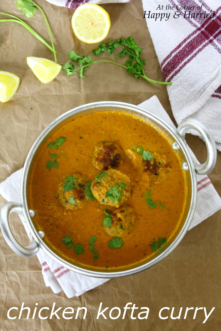 Chicken Kofta Curry Meatballs In A Delicate Indian Curry