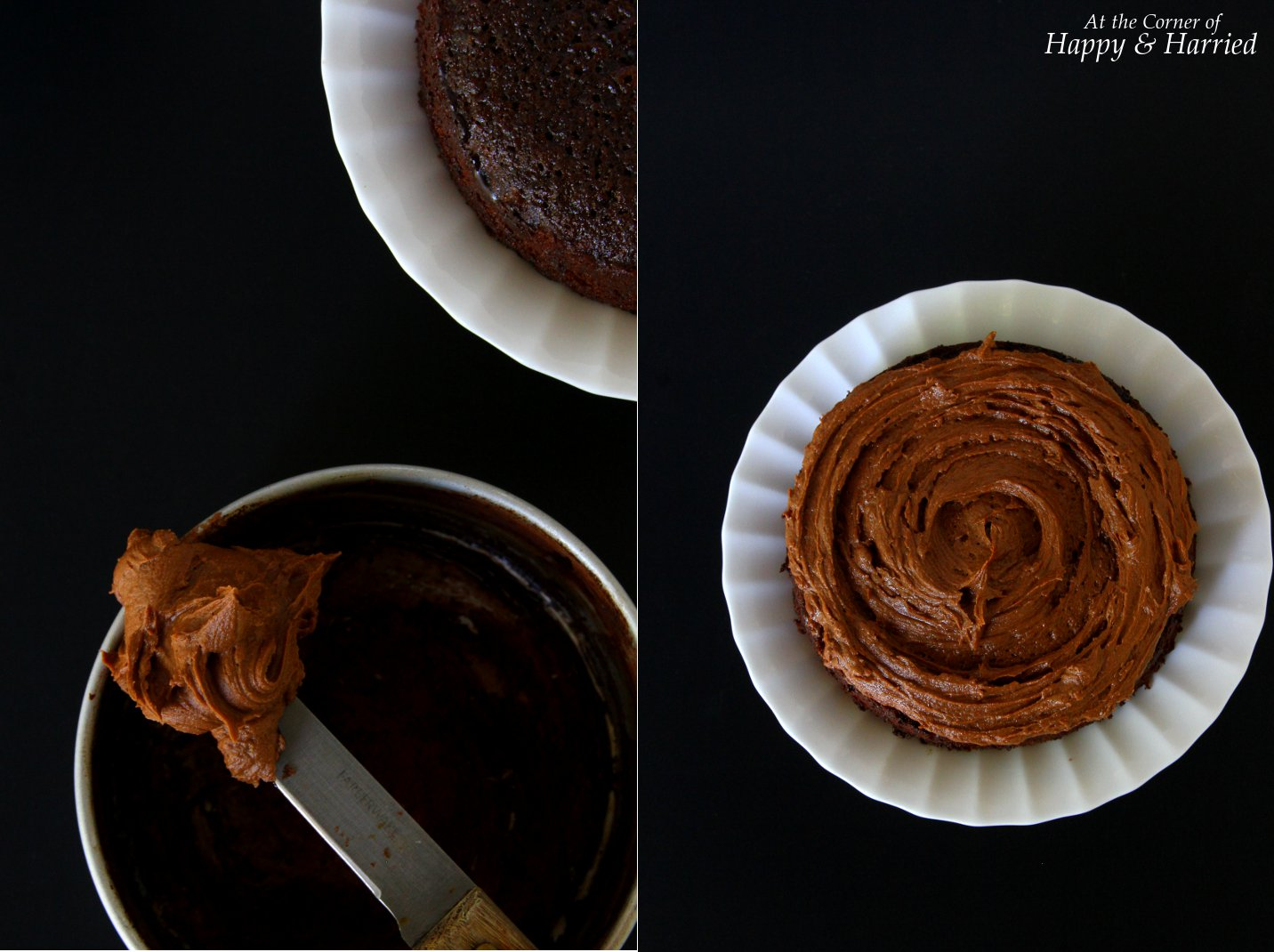 Naked Chocolate and Orange Cake With Chocolate Buttercream Frosting