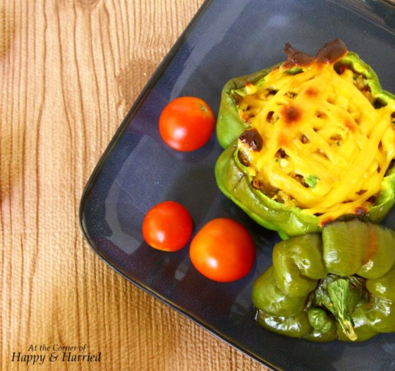 Peppers Stuffed With Bulgur Wheat & Vegetables