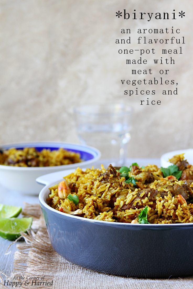 Mutton or Lamb Biryani - a delicious one pot meal