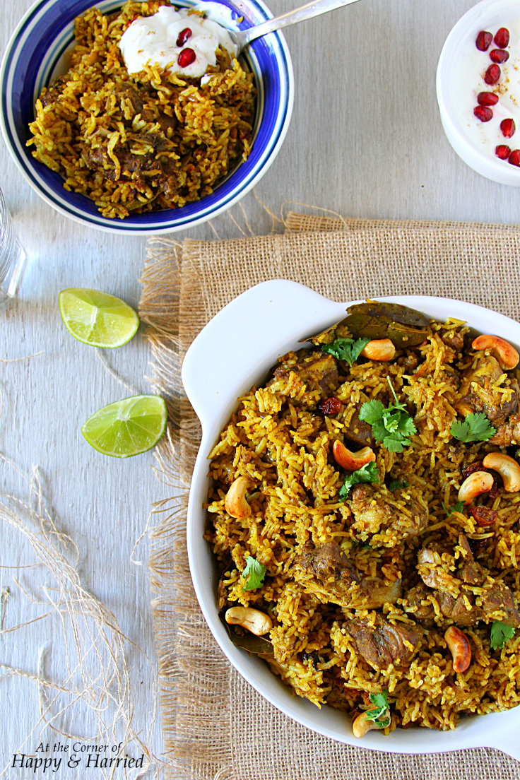Spicy Delicious Mutton Biryani {Tamil Nadu Style}