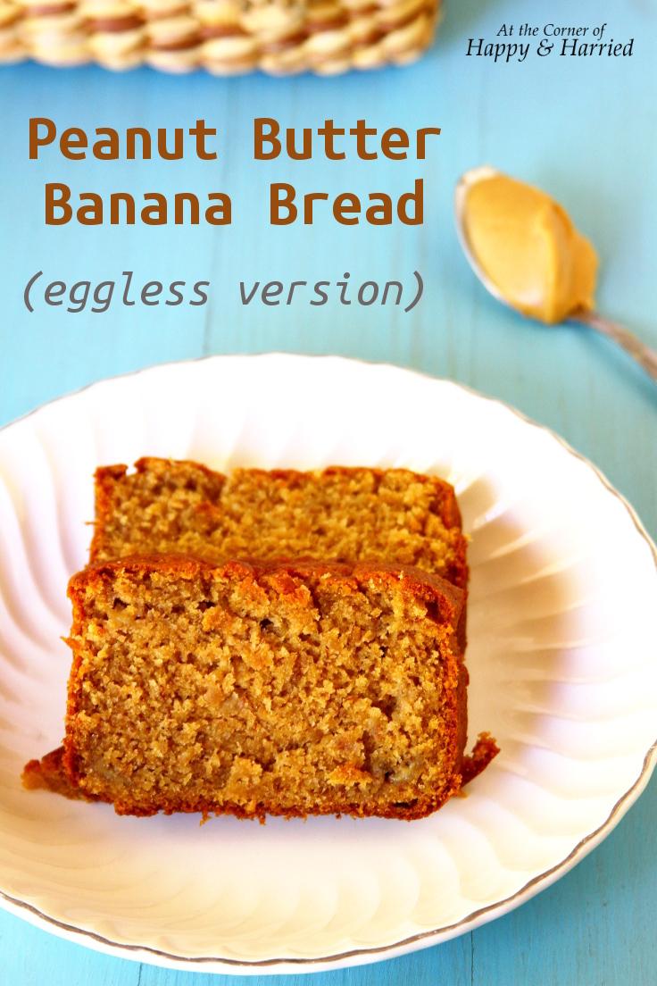 Eggless One Banana Yogurt Cake