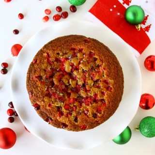 Cranberry-Lime Cake