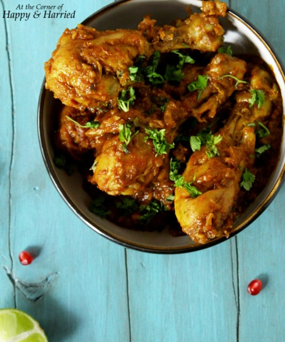 Balti Chicken {Chicken In A Spicy Masala}