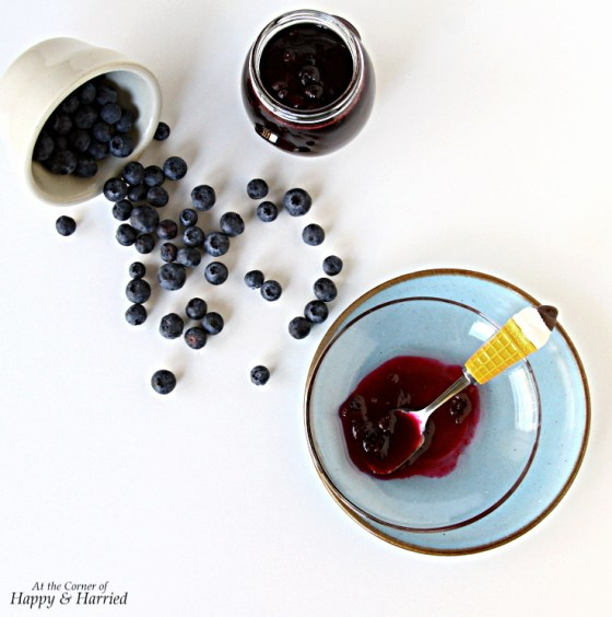 Homemade Blueberry Compote