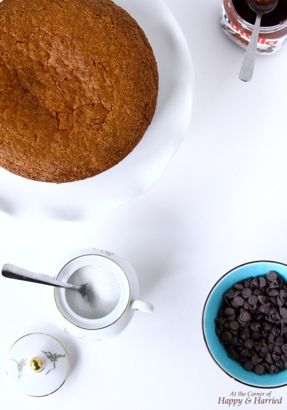 Vanilla Cake With Cardamom And Chocolate Chips