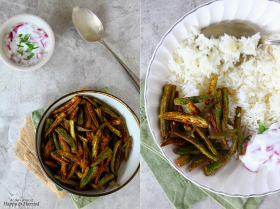 Indian Style Okra Fry