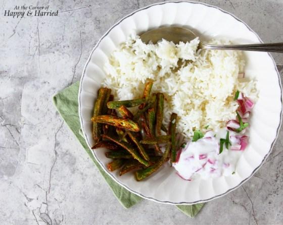 Kurkuri Masala Bhindi