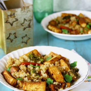 Quinoa, Tofu And Vegetable Stir Fry