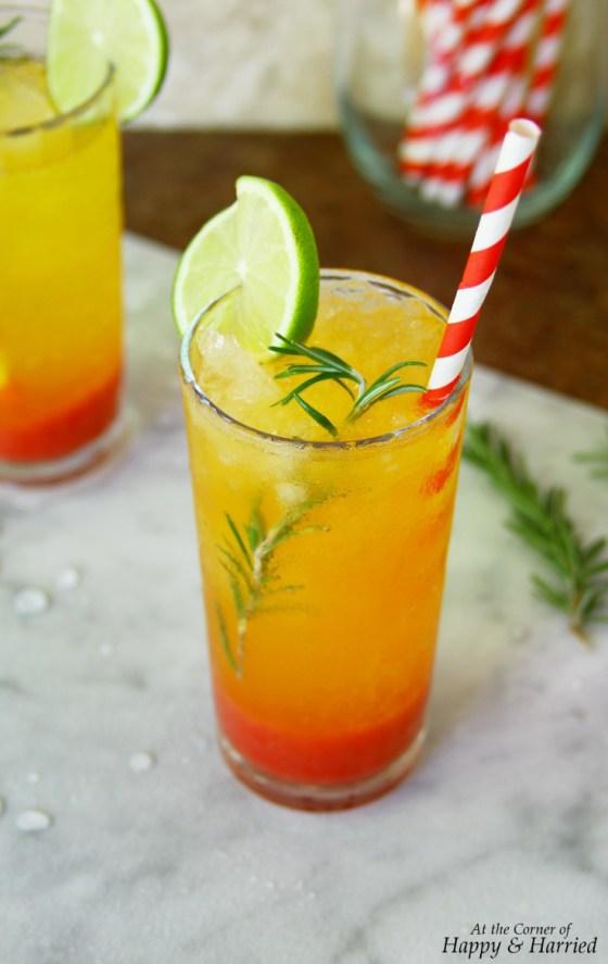 Strawberry & Clementine Sunrise Mocktail