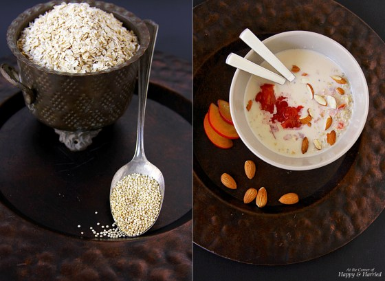 Oats & Quinoa Refrigerator Porridge Bowl