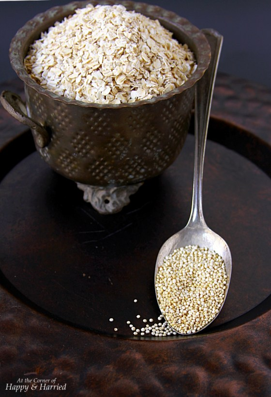Superfoods - Oats And Quinoa