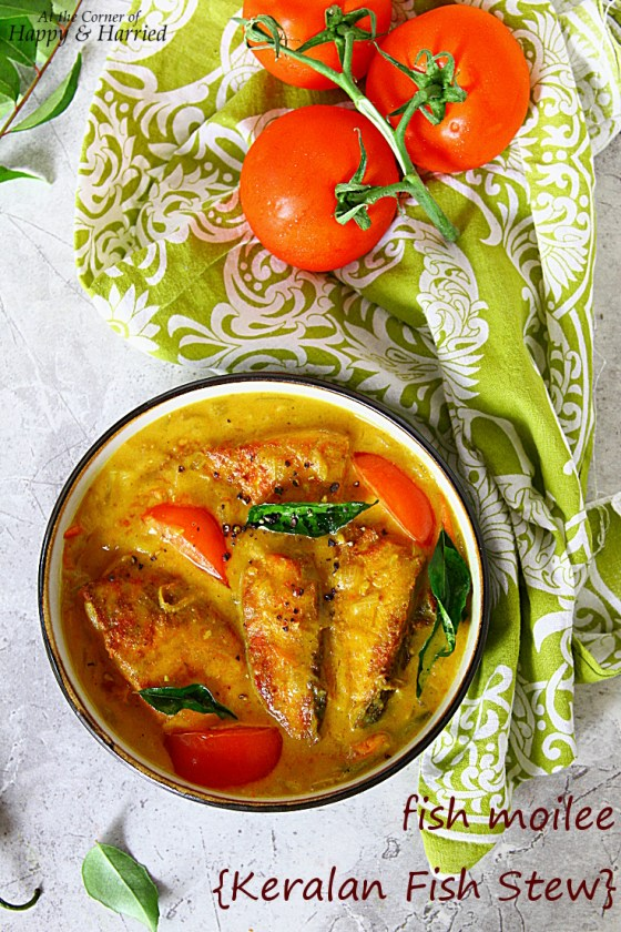 Fish Moilee {Mild Keralan Fish Stew}