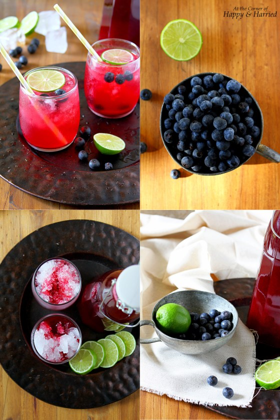 How To Make Blueberry Limeade