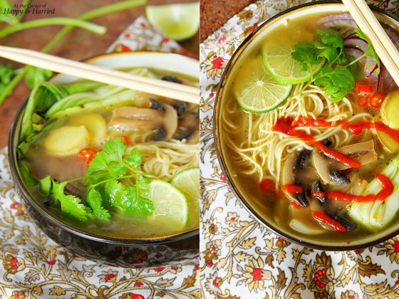 South Asian Noodle Soup