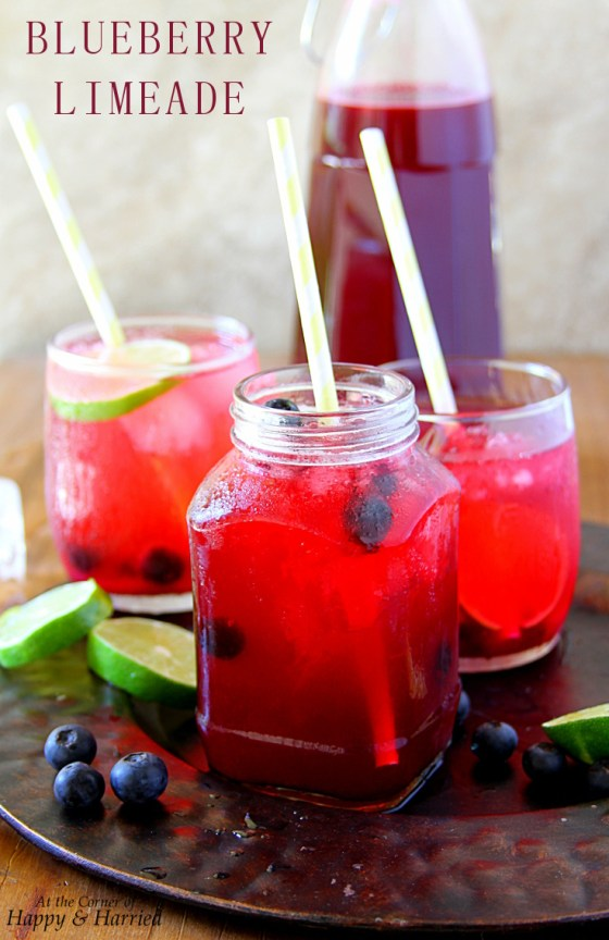 Summer In A Glass - Blueberry Limeade
