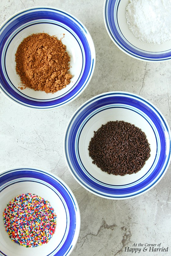 Toppings For Homemade Chocolate Truffles
