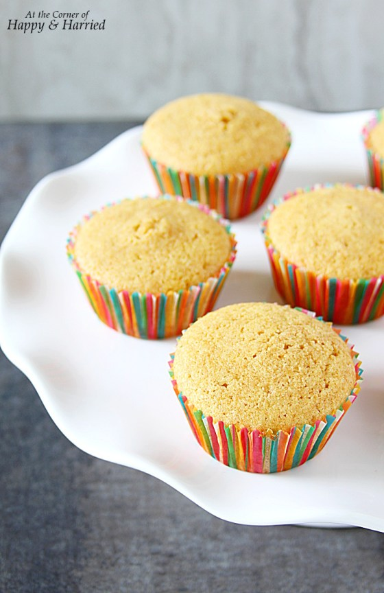 Wholewheat Vanilla-Lime Cupcakes