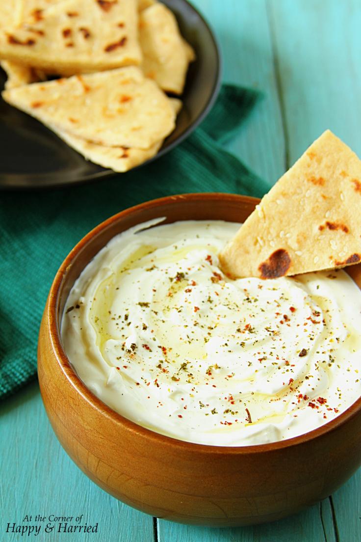 Creamy Feta Cheese & Greek Yogurt Dip