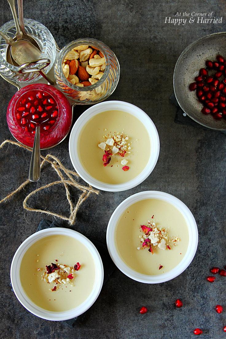 Baked Bhapa Doi {Sweet Yogurt Pudding}