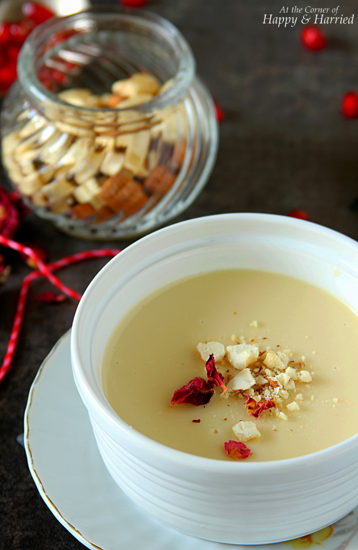 Bhapa Doi {Baked Yogurt Pudding}