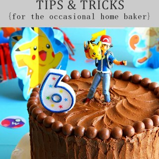 DIY Birthday Cake Tips & Tricks