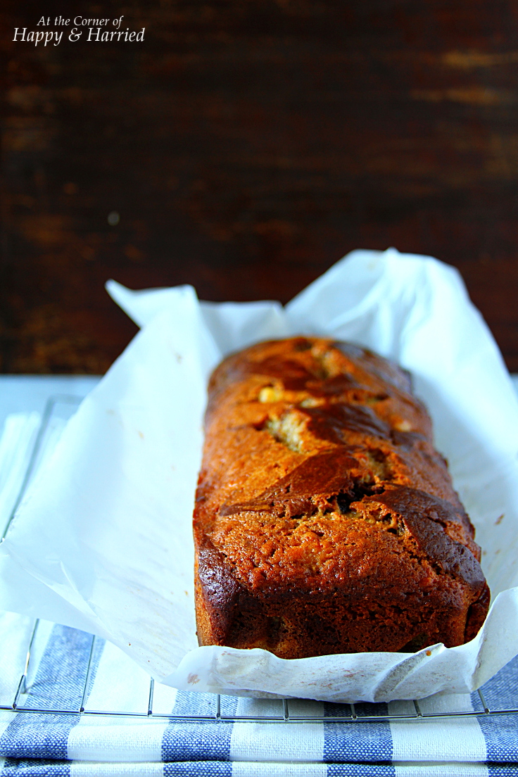 Marbled Chocolate-Banana Bread
