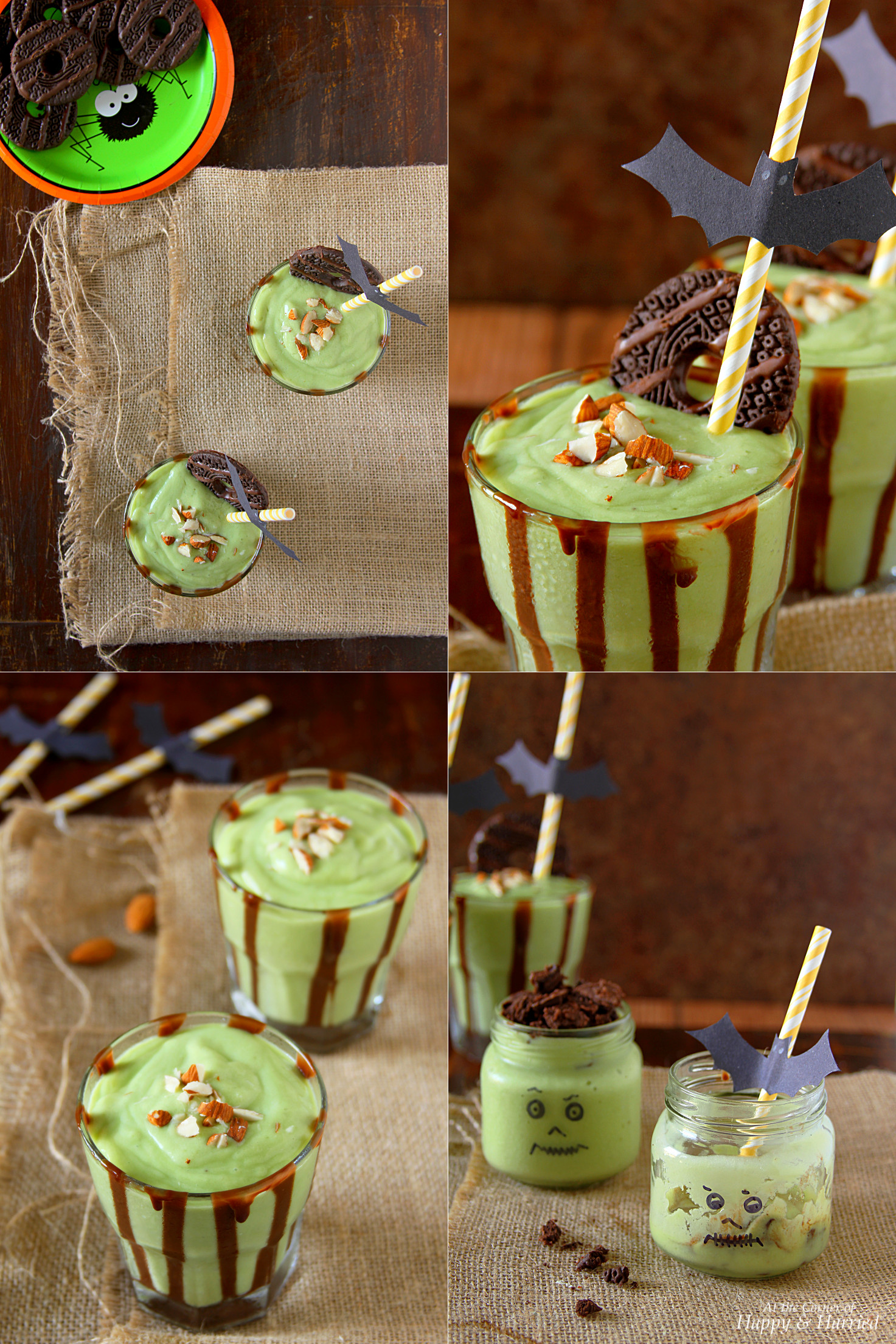 Scary Good Halloween Monster Smoothie
