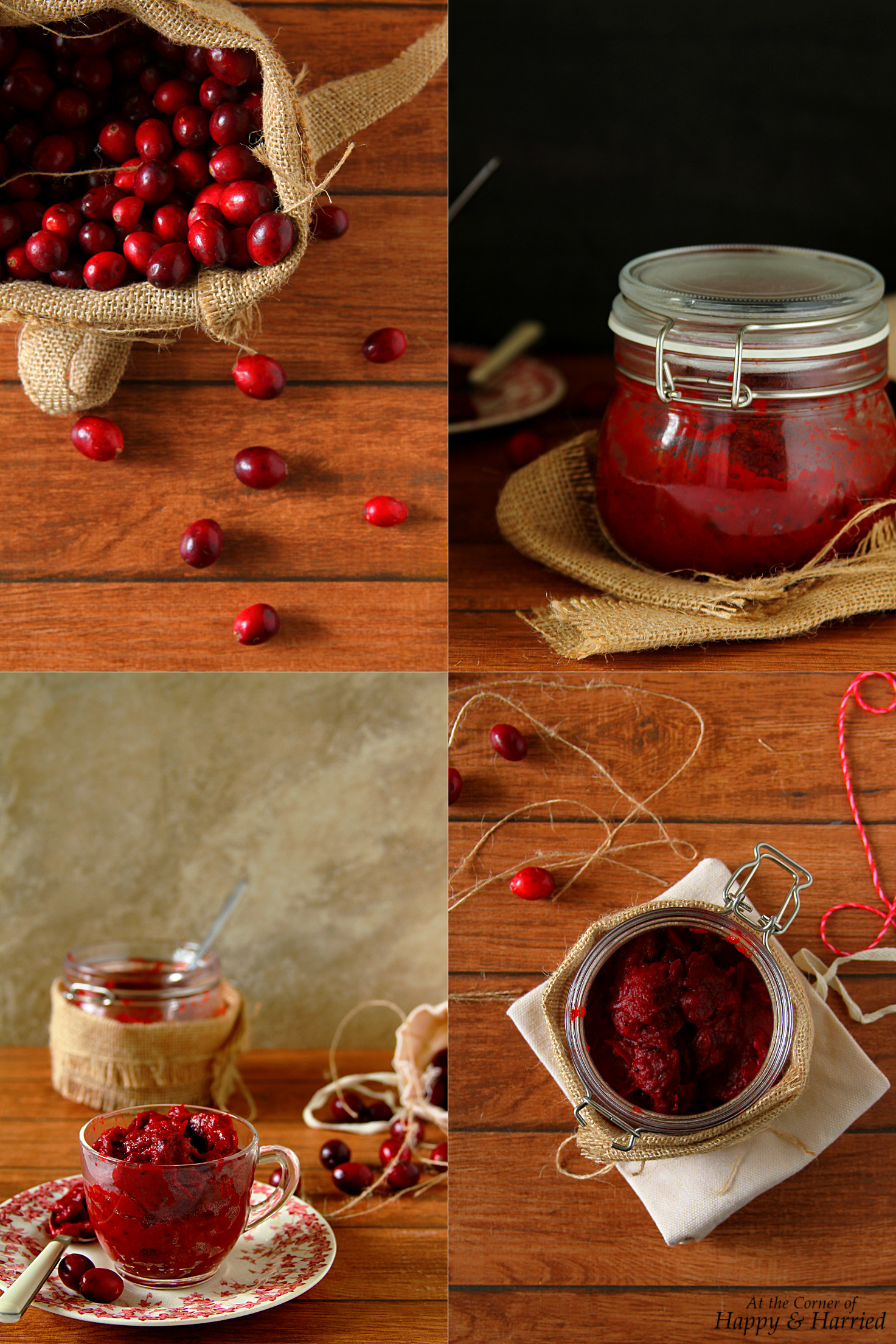 Cranberry Thokku {Indian Spiced Cranberry Relish}