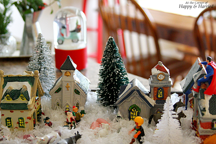 HappyandHarried Christmas 2015-Kids Christmas Village