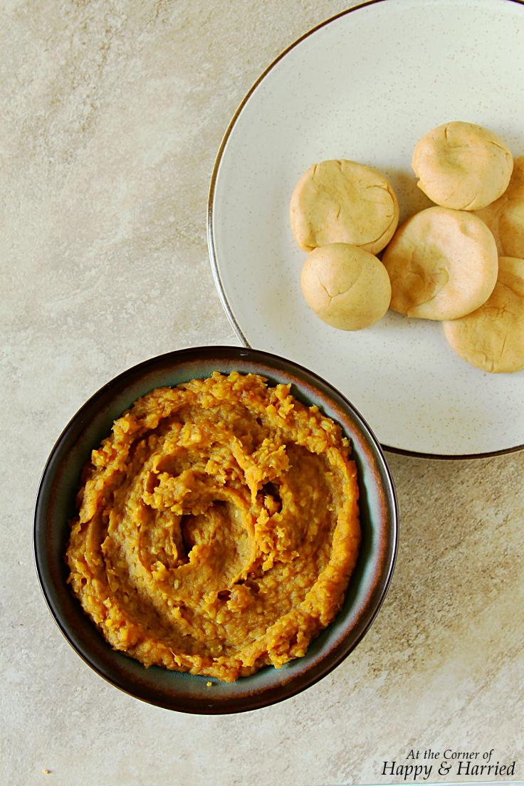 Puran Mix {Sweetened Lentil & Jaggery Mash}