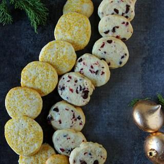 Christmas Baking: Slice & Bake Vanilla Sugar Cookies