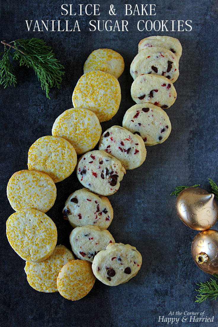 SLICE & BAKE VANILLA SUGAR COOKIES