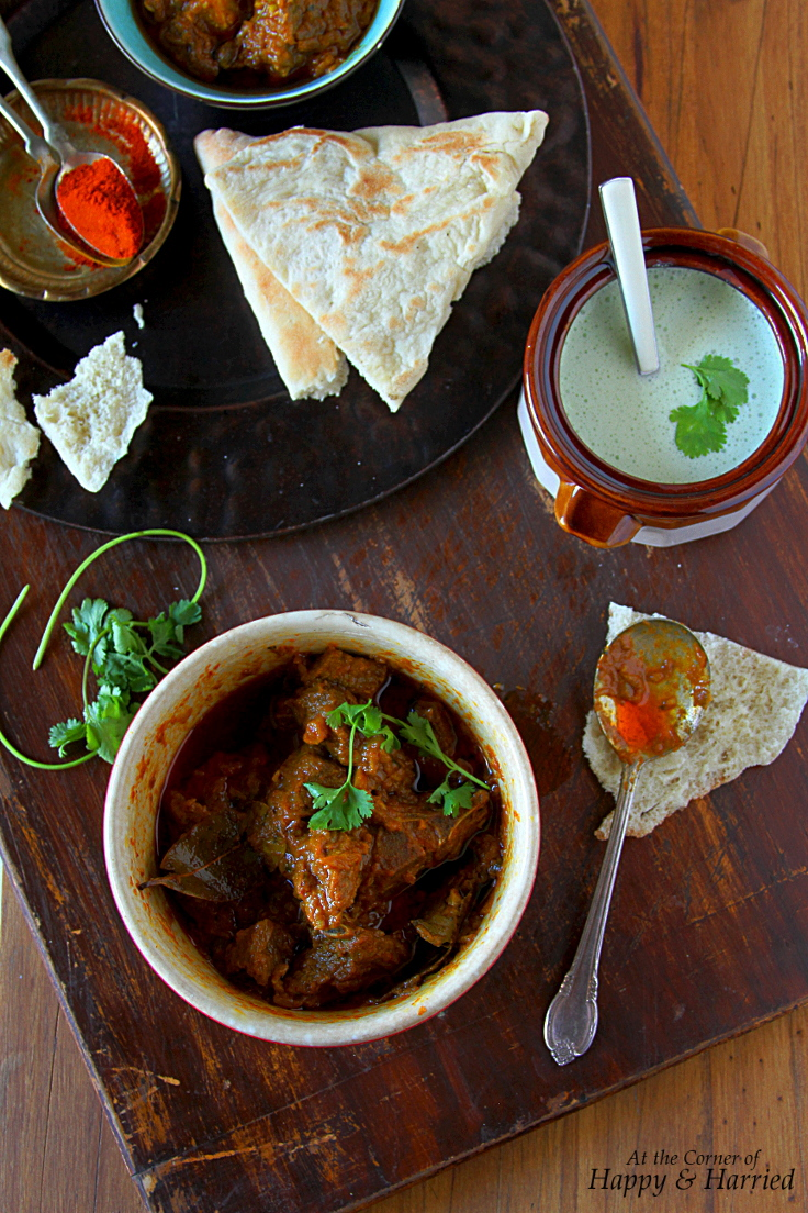 Red Goat Curry {Rajasthani Laal Maas}