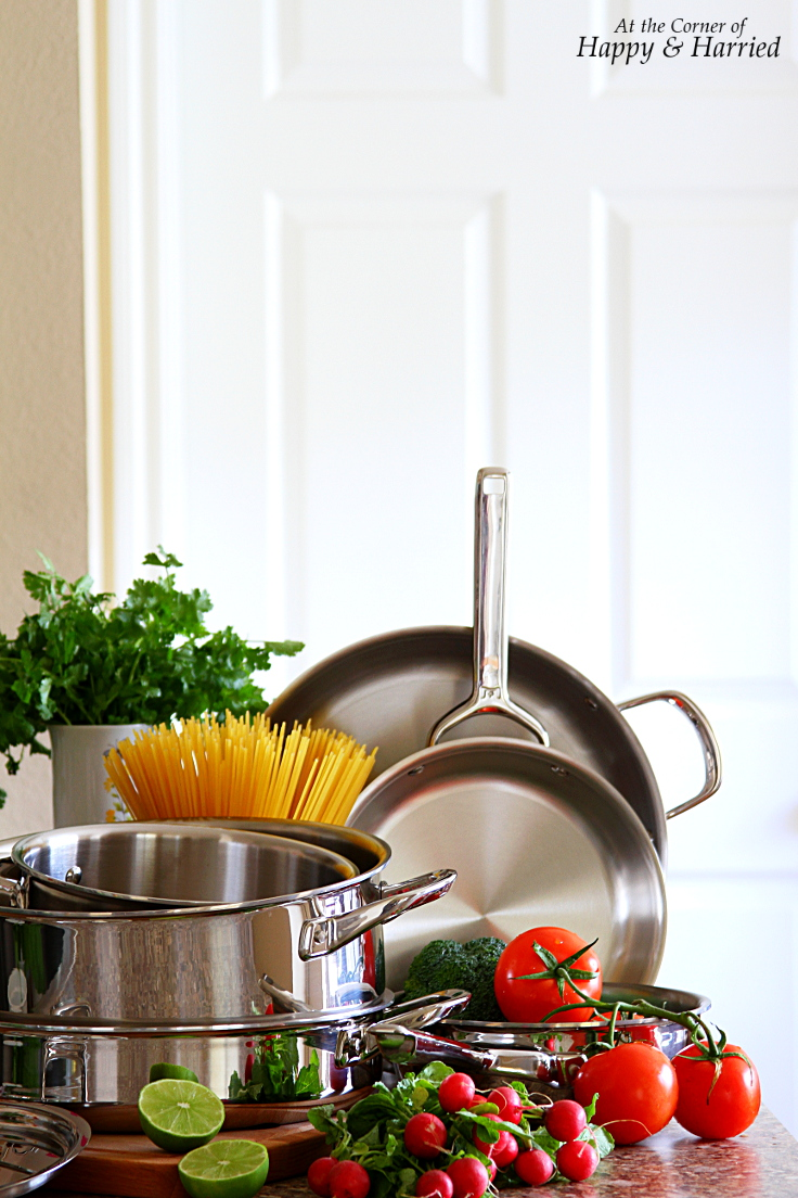 Wolf Gourmet Stainless Steel Cookware Review - At The Corner Of Happy & Harried