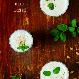 Cardamom Mint Lassi