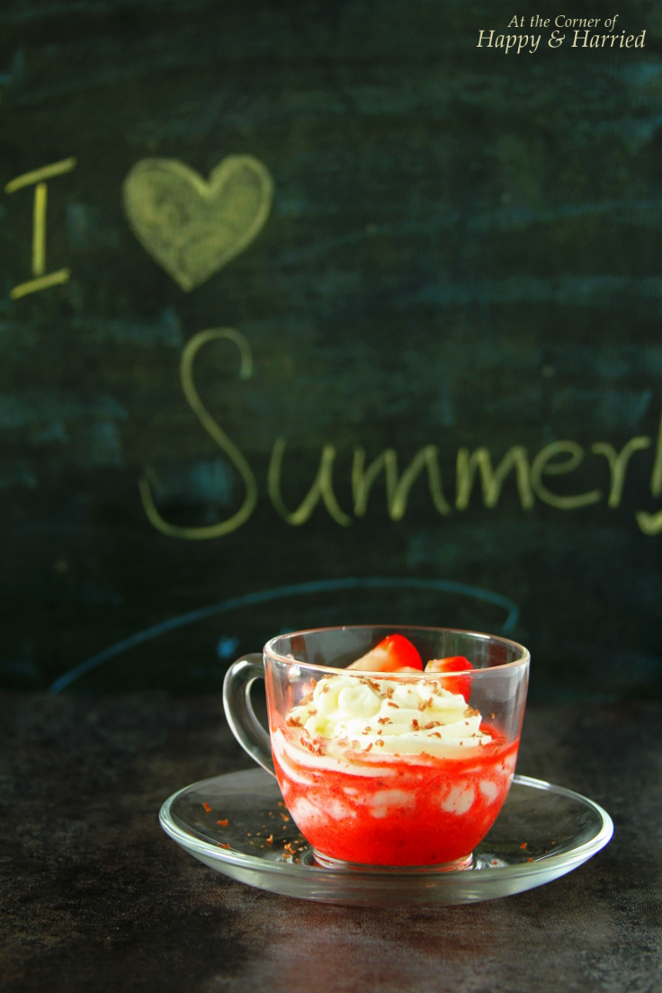 Berry Fool - No Cook Summer Dessert