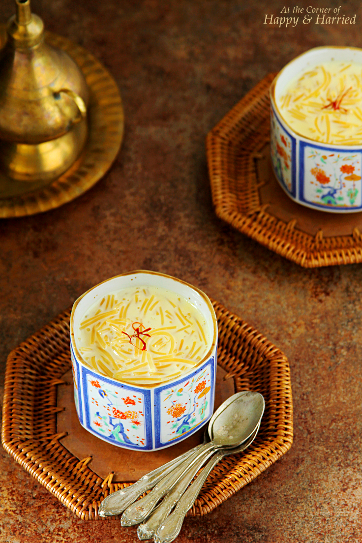 Semiya Payasam {A Rich Indian Dessert}