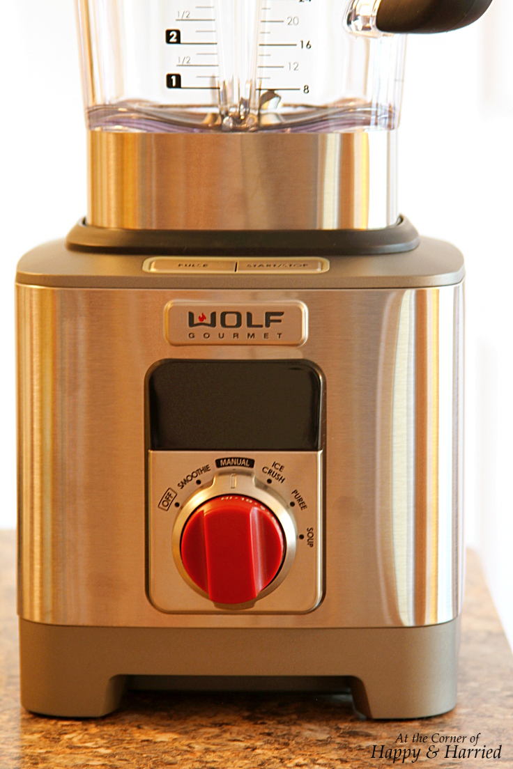 Wolf Gourmet Blender Review - HappyAndHarried