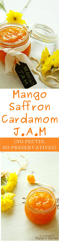 Mango Saffron Cardamom Jam