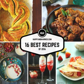 Top 16 Of 2016 – A Recipe Roundup