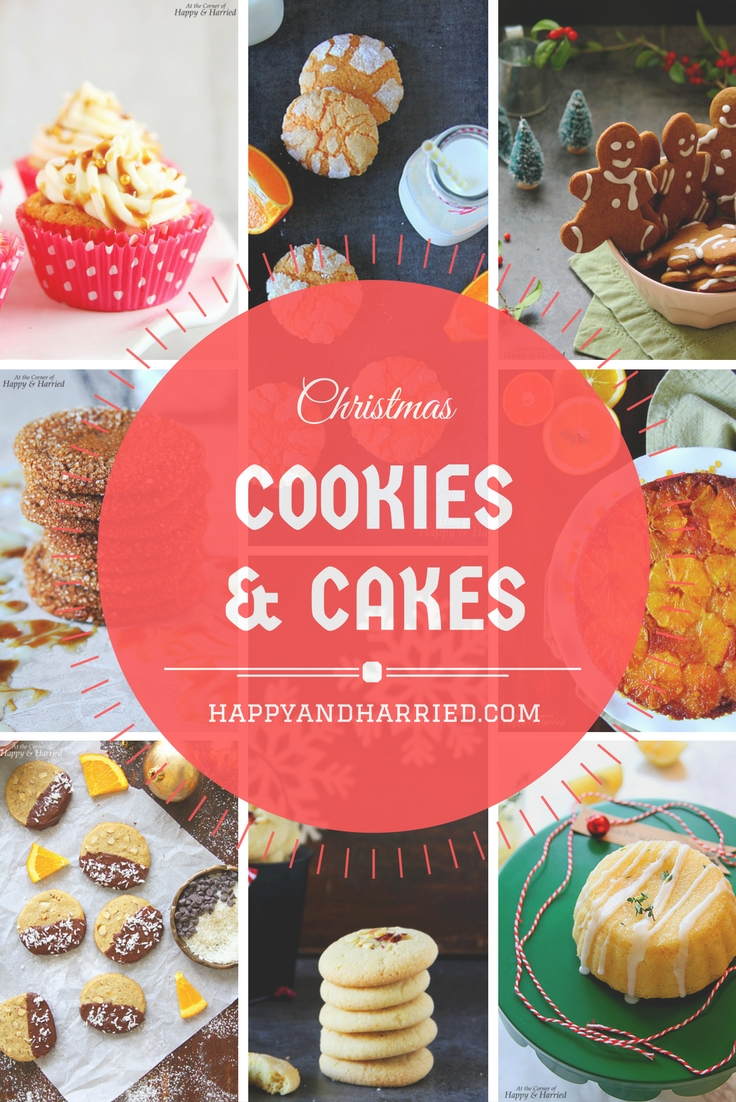 20 Christmas Cakes & Cookies - A Recipe Roundup