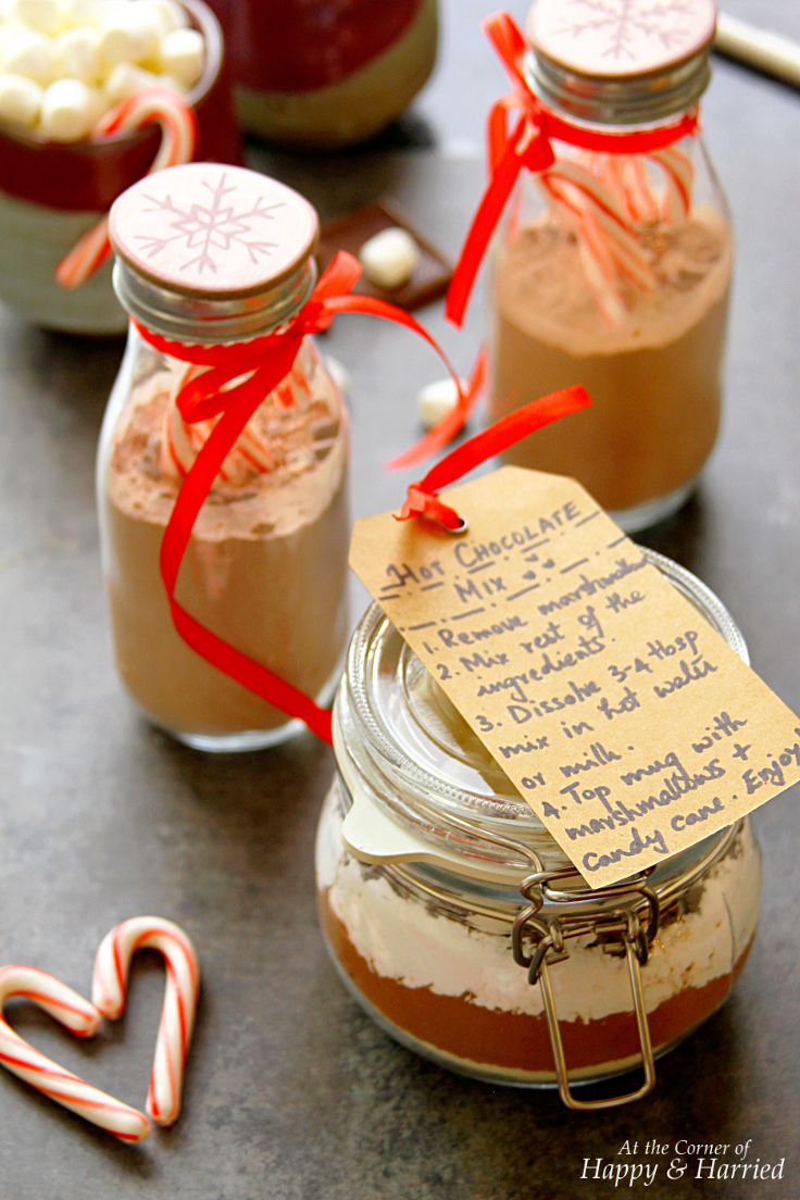 Recipe For Hot Chocolate Mix Gift