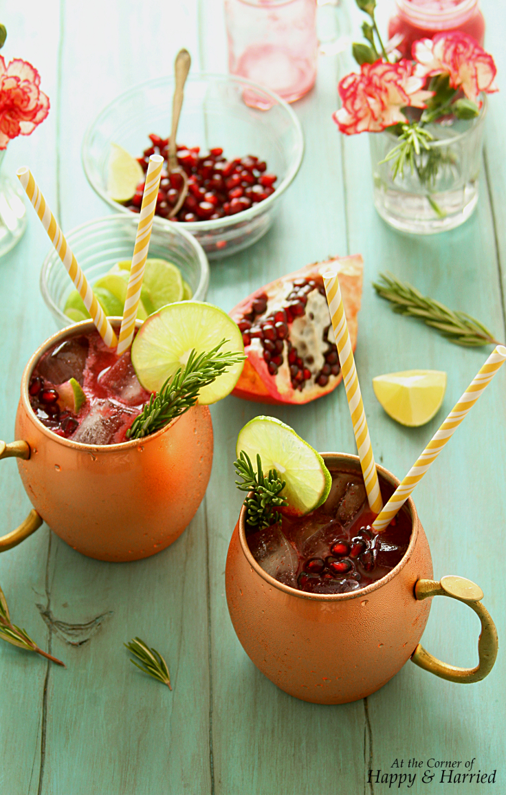 Pomegranate Mock Moscow Mule