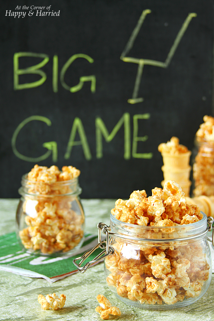 HOMEMADE CINNAMON SUGAR POPCORN - HAPPY&HARRIED